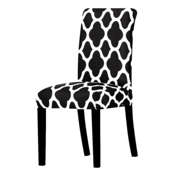 All Black Color Chair Cover Washable Removable 33 Chair And Sofa Covers