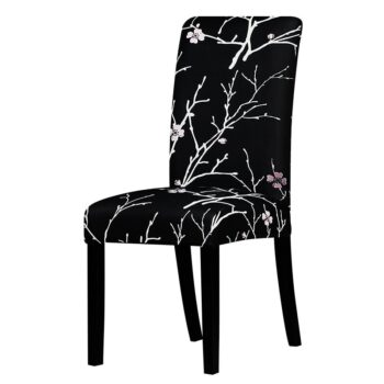 All Black Color Chair Cover Washable Removable 19 Chair And Sofa Covers