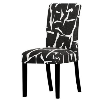 All Black Color Chair Cover Washable Removable 32 Chair And Sofa Covers