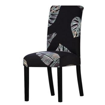 All Black Color Chair Cover Washable Removable 31 Chair And Sofa Covers