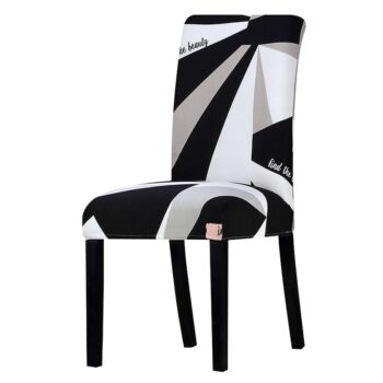 All Black Color Chair Cover Washable Removable 29 Chair And Sofa Covers