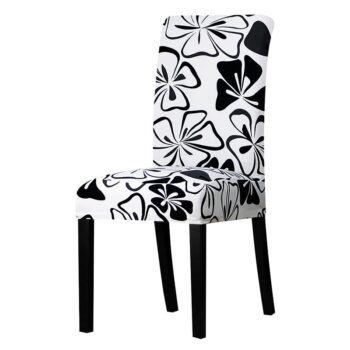 All Black Color Chair Cover Washable Removable 23 Chair And Sofa Covers