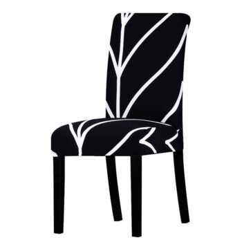 All Black Color Chair Cover Washable Removable 30 Chair And Sofa Covers