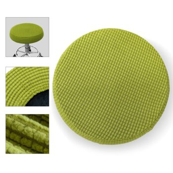 Round Fleece Fabric Seat Cover For Bar Stools 17 Chair And Sofa Covers