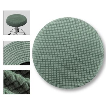 Round Fleece Fabric Seat Cover For Bar Stools 15 Chair And Sofa Covers