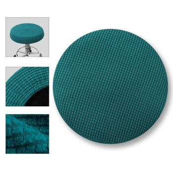 Round Fleece Fabric Seat Cover For Bar Stools 12 Chair And Sofa Covers