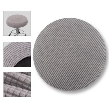 Round Fleece Fabric Seat Cover For Bar Stools 11 Chair And Sofa Covers