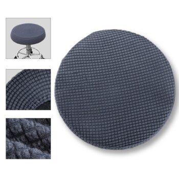 Round Fleece Fabric Seat Cover For Bar Stools 16 Chair And Sofa Covers