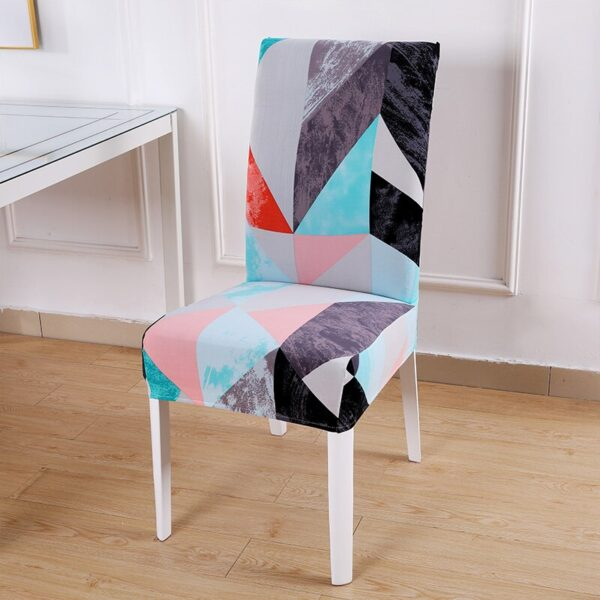 Black &Amp; White Stretchable Chair Cover For Dining Chairs 11 Chair And Sofa Covers