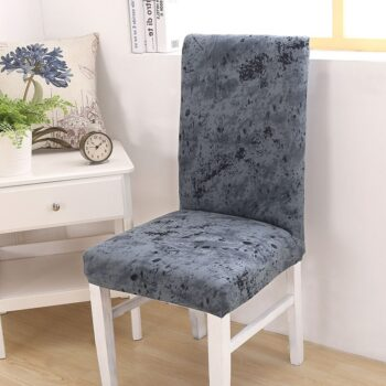 Black &Amp; White Stretchable Chair Cover For Dining Chairs 34 Chair And Sofa Covers