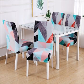 1/2/4/6Pc Removable Chair Covers For Dining Room 16 Chair And Sofa Covers