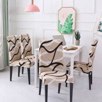 1/2/4/6Pc Removable Chair Covers For Dining Room 31 Chair And Sofa Covers