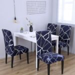 1/2/4/6Pc Removable Chair Covers For Dining Room 1 Chair And Sofa Covers