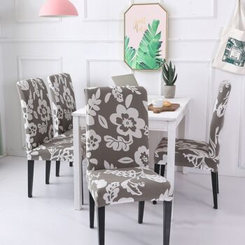 1/2/4/6Pc Removable Chair Covers For Dining Room 27 Chair And Sofa Covers
