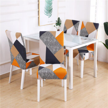1/2/4/6Pc Removable Chair Covers For Dining Room 23 Chair And Sofa Covers
