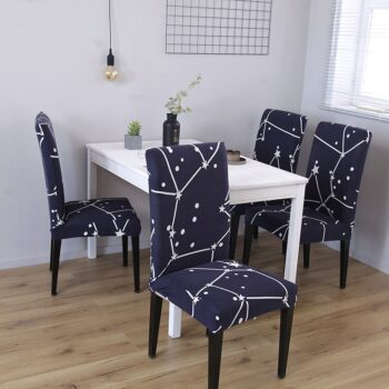 1/2/4/6Pc Removable Chair Covers For Dining Room 32 Chair And Sofa Covers