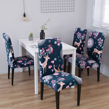 1/2/4/6Pc Removable Chair Covers For Dining Room 33 Chair And Sofa Covers