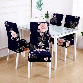 1/2/4/6Pc Removable Chair Covers For Dining Room 22 Chair And Sofa Covers