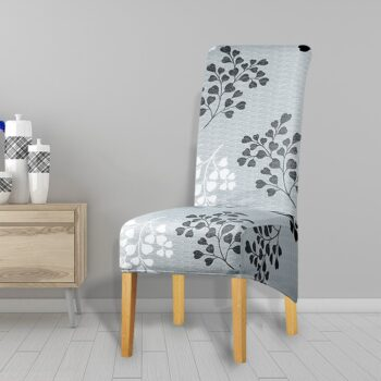 Printed Xl Size Long Back Chair Cover 48 Chair And Sofa Covers