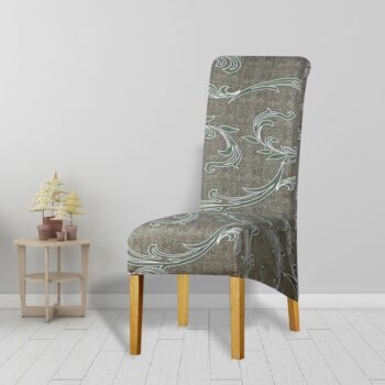 Printed Xl Size Long Back Chair Cover 32 Chair And Sofa Covers