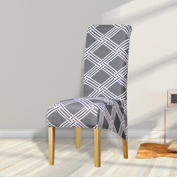Printed Xl Size Long Back Chair Cover 37 Chair And Sofa Covers