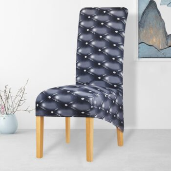 Printed Xl Size Long Back Chair Cover 27 Chair And Sofa Covers
