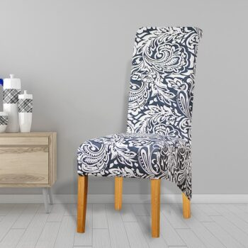 Printed Xl Size Long Back Chair Cover 49 Chair And Sofa Covers