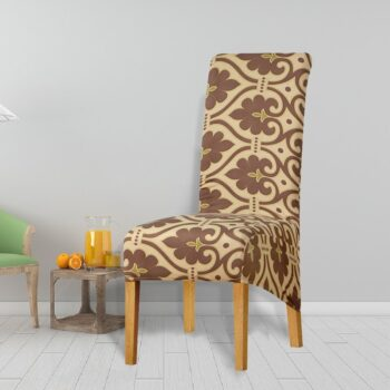 Printed Xl Size Long Back Chair Cover 39 Chair And Sofa Covers