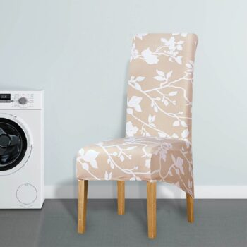 Printed Xl Size Long Back Chair Cover 41 Chair And Sofa Covers