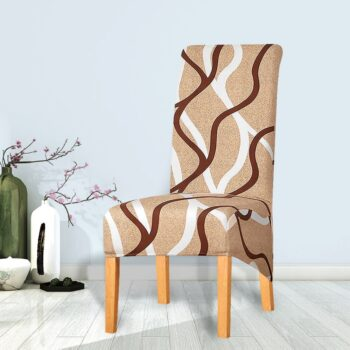 Printed Xl Size Long Back Chair Cover 43 Chair And Sofa Covers