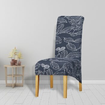 Printed Xl Size Long Back Chair Cover 33 Chair And Sofa Covers