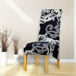 Printed Xl Size Long Back Chair Cover 1 Chair And Sofa Covers