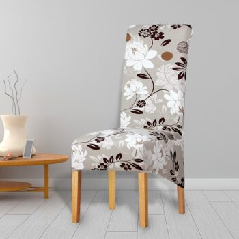 Printed Xl Size Long Back Chair Cover 9 Chair And Sofa Covers