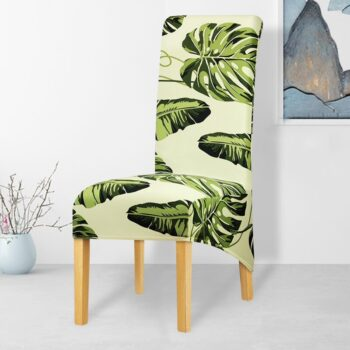 Printed Xl Size Long Back Chair Cover 15 Chair And Sofa Covers