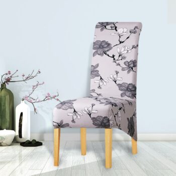 Printed Xl Size Long Back Chair Cover 42 Chair And Sofa Covers