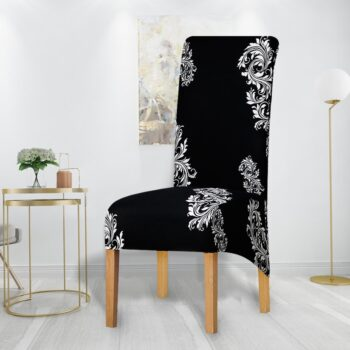 Printed Xl Size Long Back Chair Cover 44 Chair And Sofa Covers