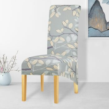 Printed Xl Size Long Back Chair Cover 23 Chair And Sofa Covers
