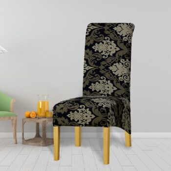 Printed Xl Size Long Back Chair Cover 38 Chair And Sofa Covers