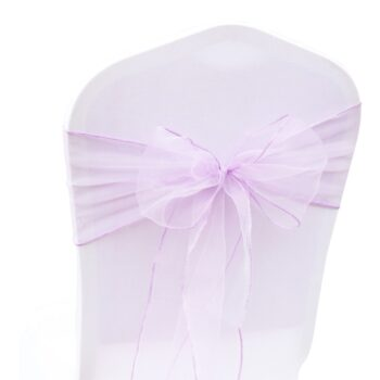 1 Pc Organza Bow For Banquet Chairs 10 Chair And Sofa Covers