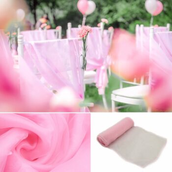 Wedding Organza Symmetry Sash For Party Chairs 14 Chair And Sofa Covers