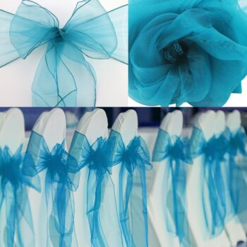 Wedding Organza Symmetry Sash For Party Chairs 16 Chair And Sofa Covers