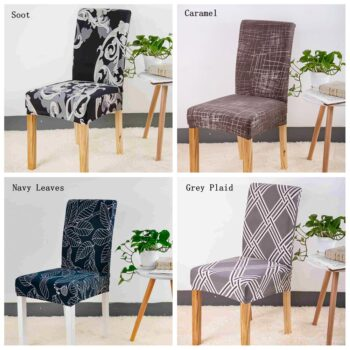 Spandex Black Chair Cover For Dining Room 11 Chair And Sofa Covers