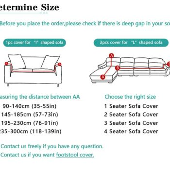 Corner Sofa Cover For L-Shaped Sofa 9 Chair And Sofa Covers