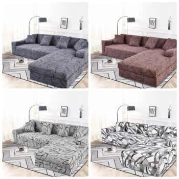 Corner Sofa Cover For L-Shaped Sofa 17 Chair And Sofa Covers