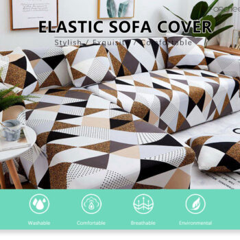 Corner Sofa Cover For L-Shaped Sofa 7 Chair And Sofa Covers