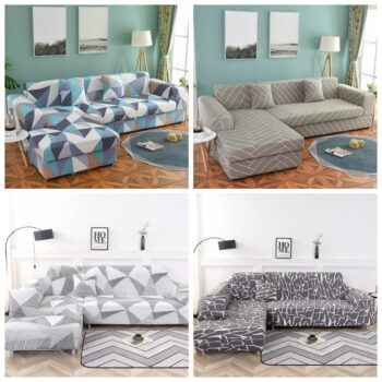 Corner Sofa Cover For L-Shaped Sofa 16 Chair And Sofa Covers