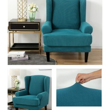 Velvet Couch Slipcover For Wingback Chairs 11 Chair And Sofa Covers