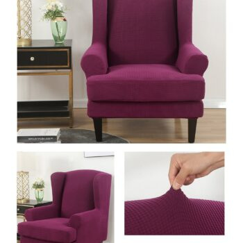 Velvet Couch Slipcover For Wingback Chairs 17 Chair And Sofa Covers