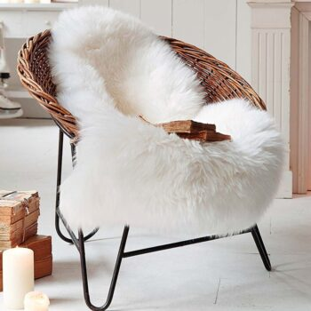 Soft Artificial Sheepskin Rug Chair Cover 8 Chair And Sofa Covers