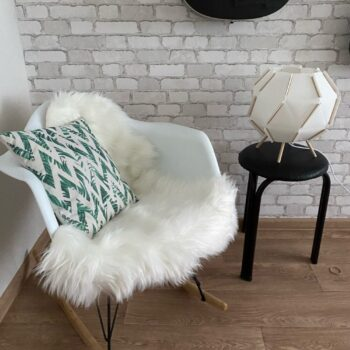 Soft Artificial Sheepskin Rug Chair Cover 6 Chair And Sofa Covers